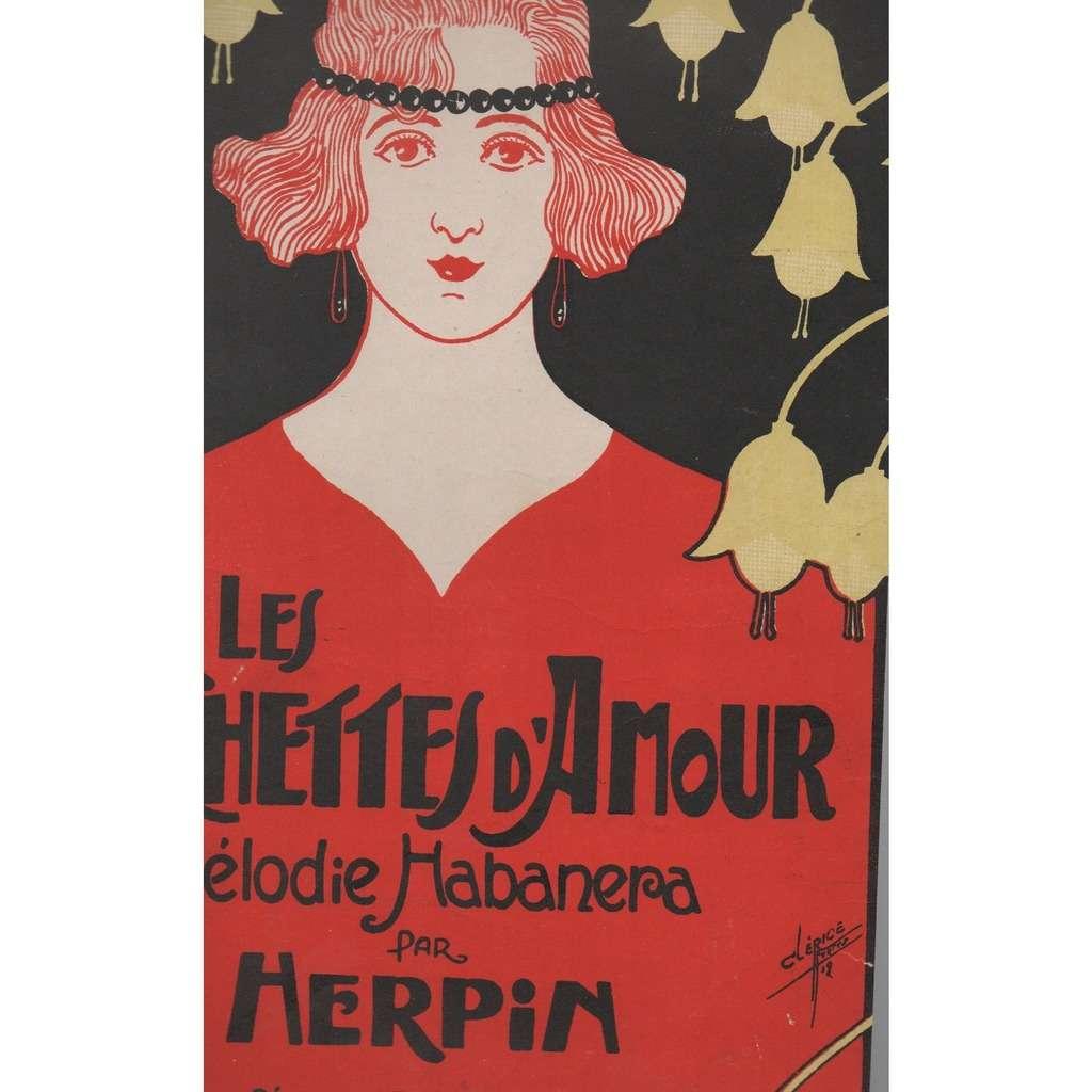 HERPIN LES CLOCHETTES D'AMOUR