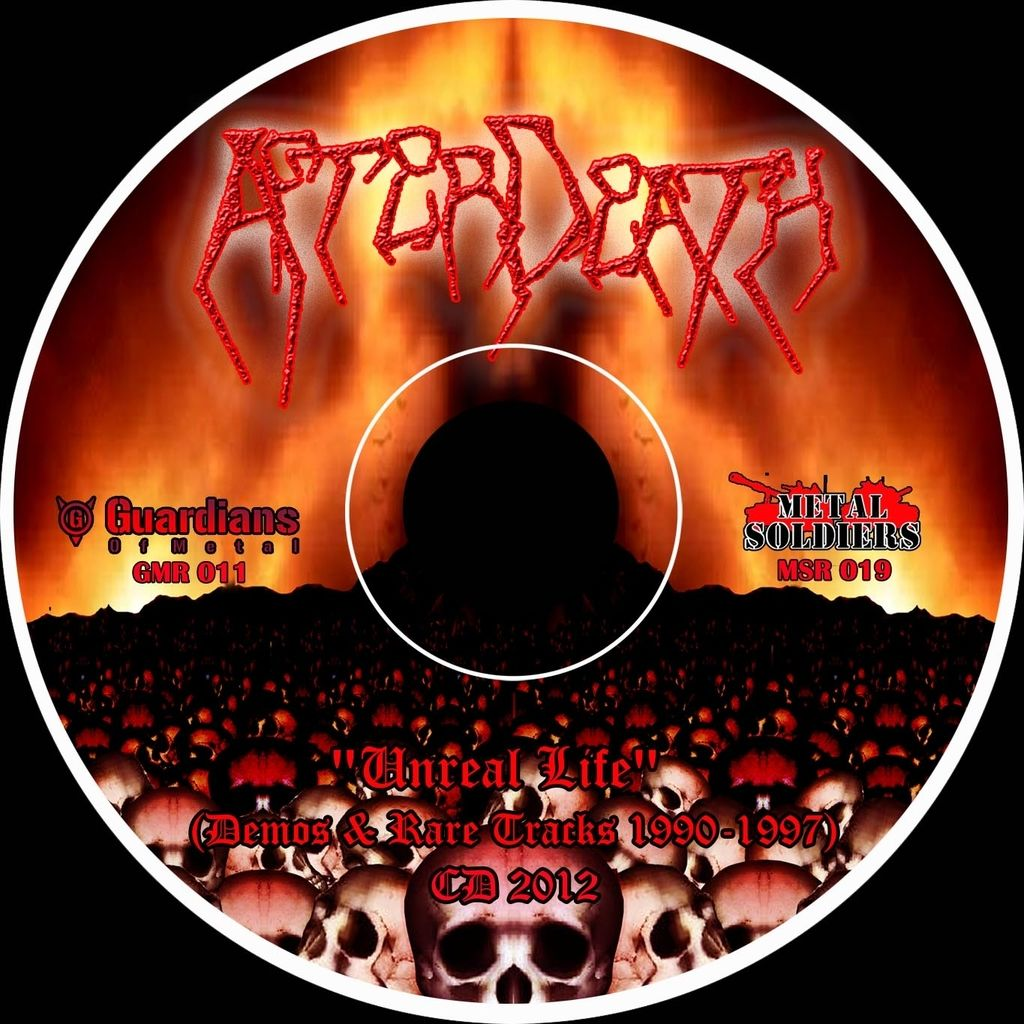 AFTERDEATH Unreal Life (Demos & Rare Tracks 1990-1997)
