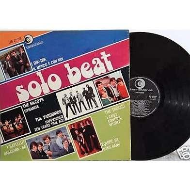 The Troggs Solo Beat (Italian 1967 original 12-trk V/A LP on Ricordi International lbl unique ps)
