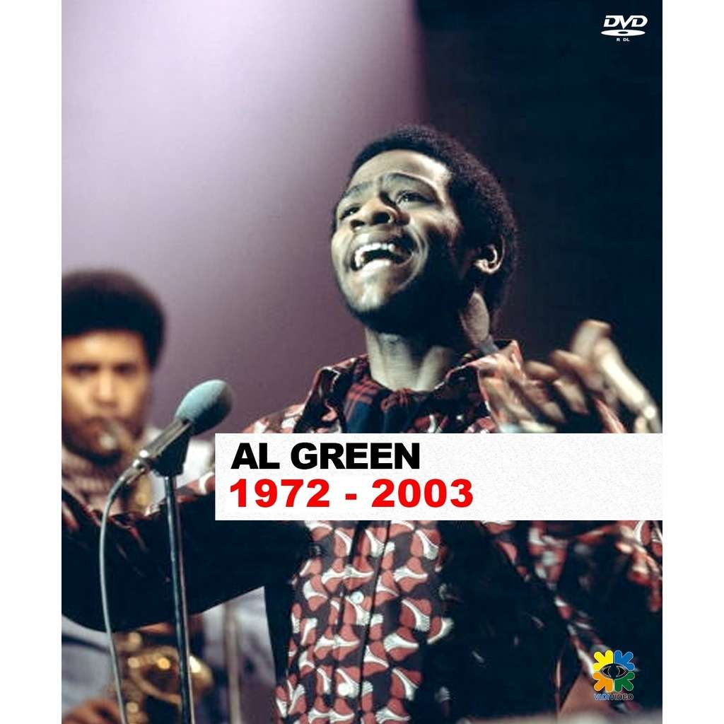 AL GREEN THE COLLECTION 1972 2003 DVD AL GREEN THE COMPLETE COLLECTION VIDEO 1972 2003 DVD