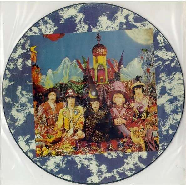 The Rolling Stones Their Satanic Majesties Request (Canada 1997 Ltd '30th Anniversary' 10-trk LP Picture Disc PVC slv)