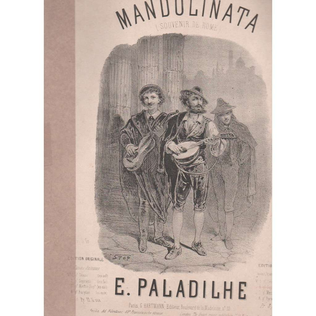 E.PALADILHE MANDOLINATA