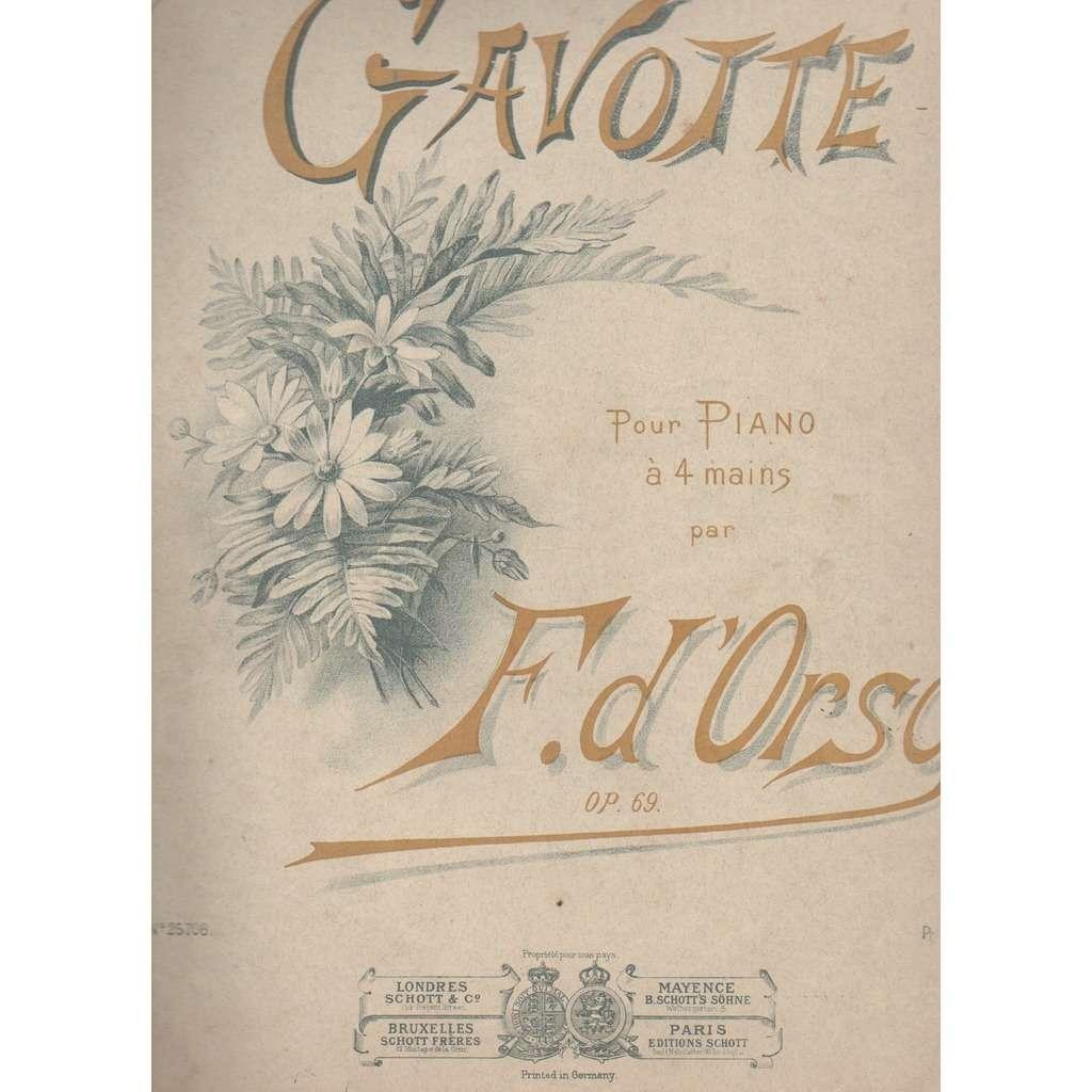 F.D'ORSO GAVOTTE