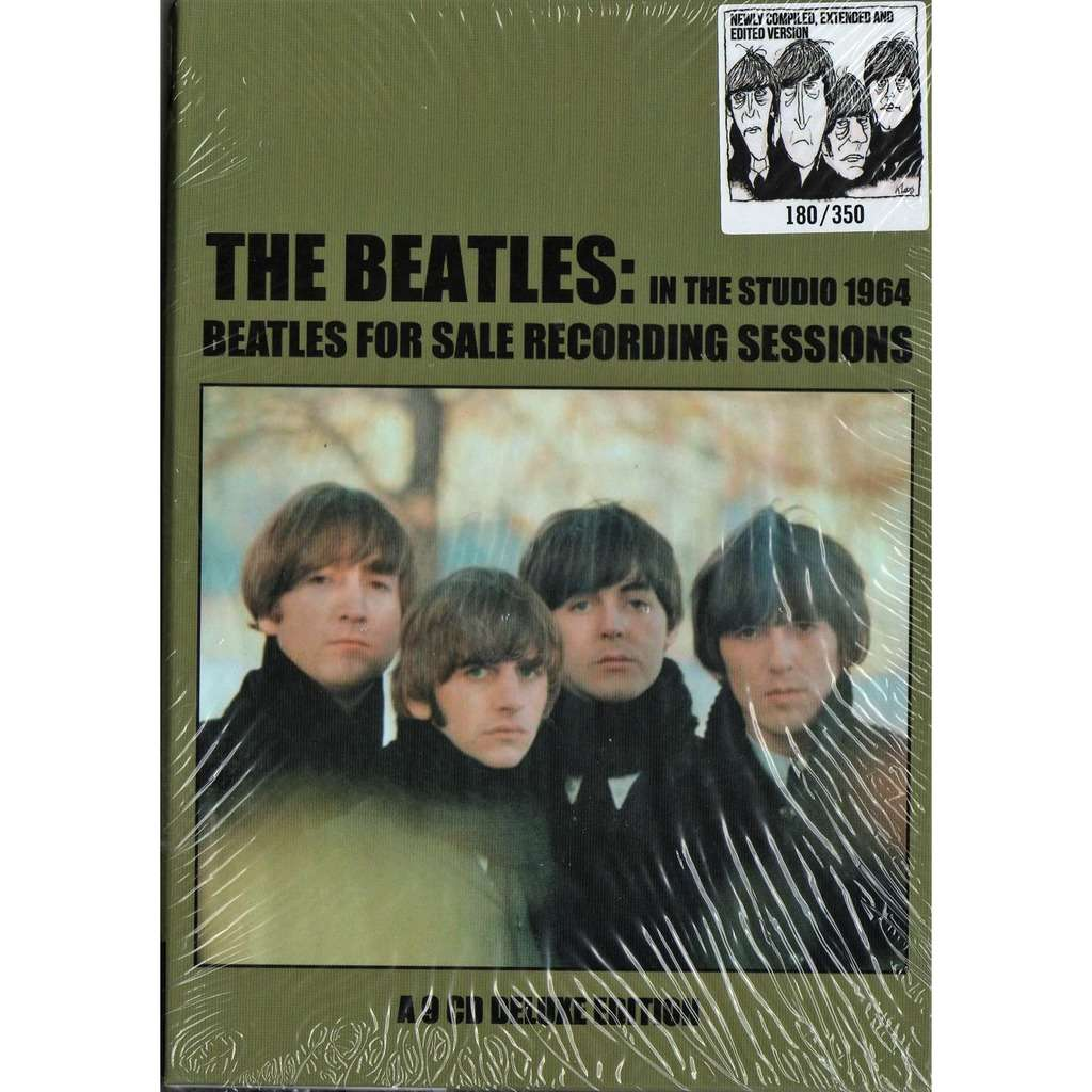 Beatles In the Studio 1964 - Beatles For Sale Recording Sessions (Ltd 350 no'd copies 9CD Box + booklet!)
