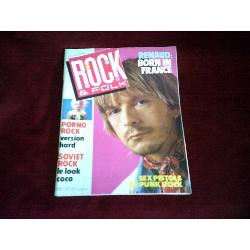 RENAUD ROCK & FOLK No 228 MARS 1986 / RENAUD SEX PISTOLS