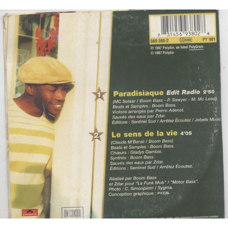 MC SOLAAR Paradisiaque