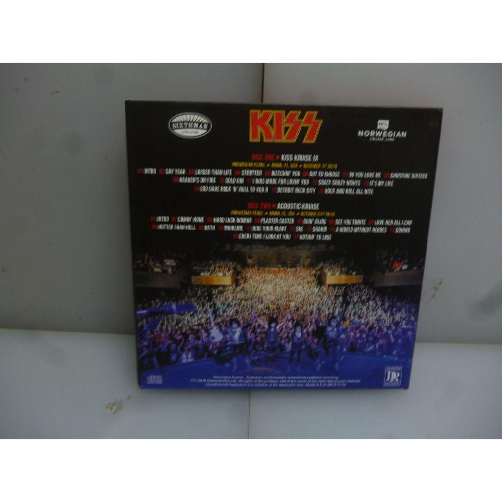 Kiss Kruise IX. Rock n' Roll Legacy. Norwegian Pearl, Miami, FL, USA 2019. EU 2019 2CD Digipack.
