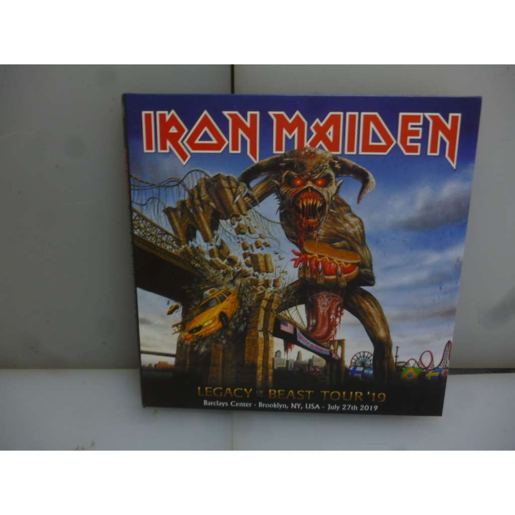 Iron Maiden Legacy Of The Beast Tour 2019. Live in Brooklyn. Brooklyn, NY, USA 2019. EU 2019 2CD Digipack.