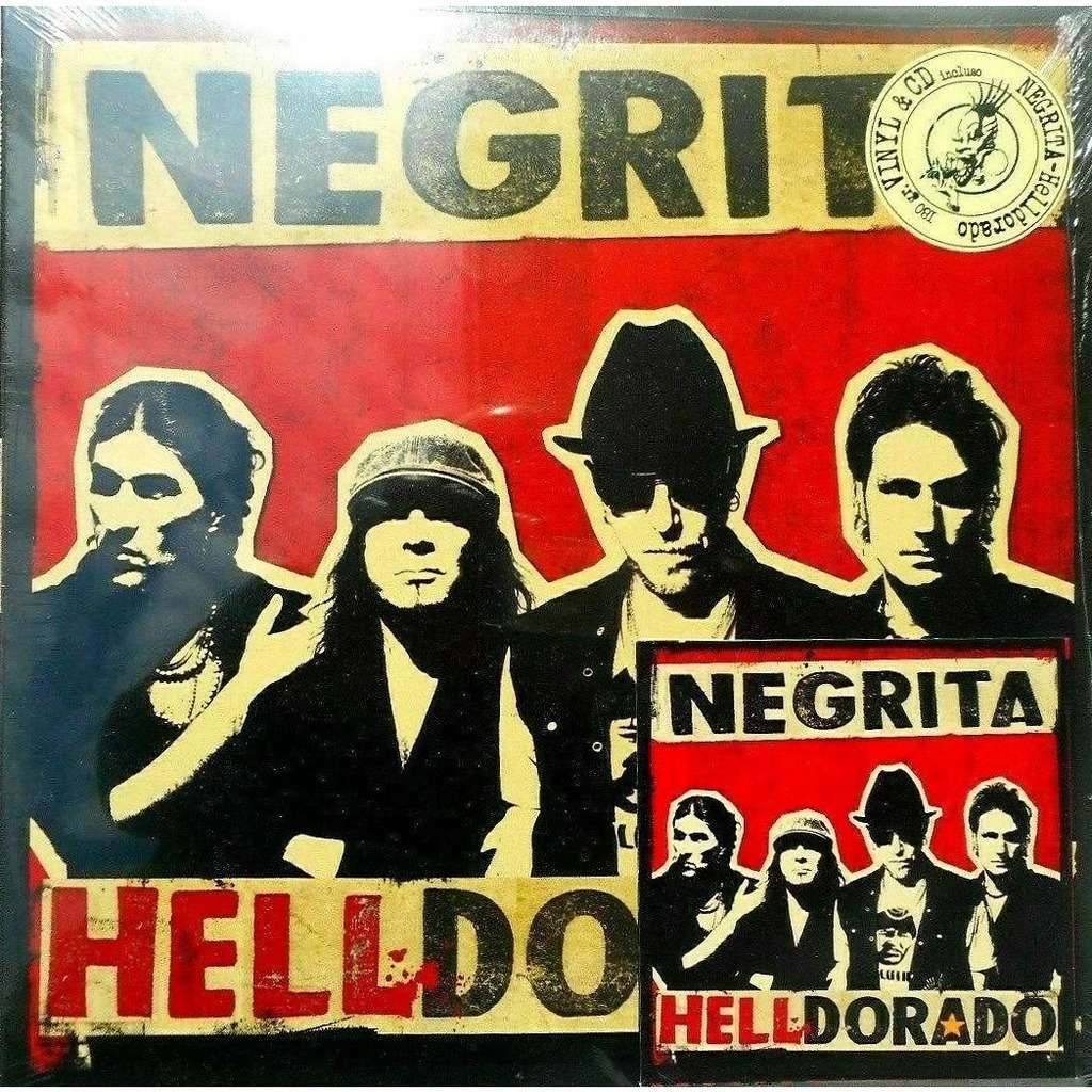 Negrita Helldorado (Italian 2008 Ltd 12-trk Lp +bonus Cd stickered gf ps-SEALED COPY!)