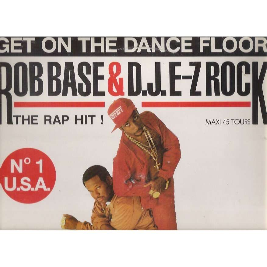 Rob BASE & DJ E-Z ROCK get on the dance floor - the sky king remix / the surgical sky king dubmix