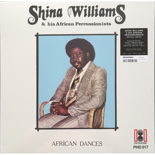Shina Williams & His African Percussionists African Dances (Afro/Funk)