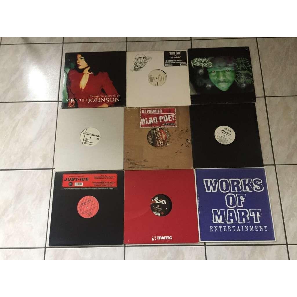 DJ PREMIER + OTHERS lot MAXI 33T