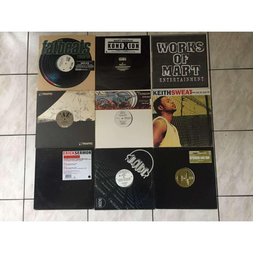 DJ PREMIER + OTHERS lot maxi 33T DJ PREMIER