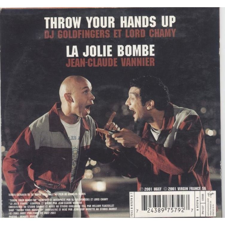 Dj Goldfingers et Lord Chamy /Jean Claude vannier Throw your hands up / la Jolie Bombe