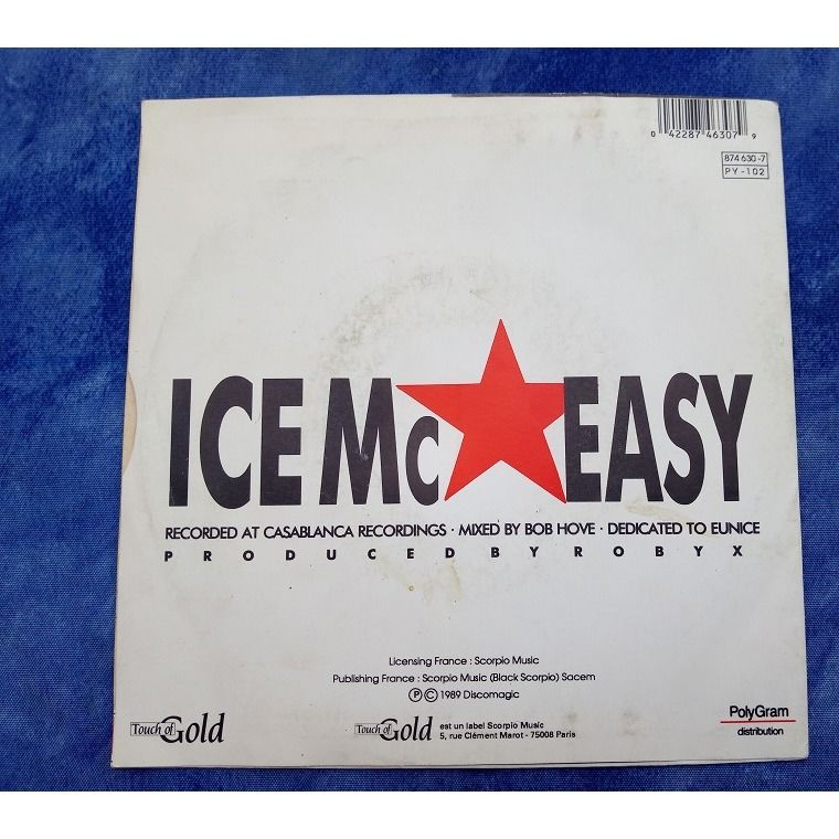 Ice MC Easy / (Dub Reprise) / (Acapella)
