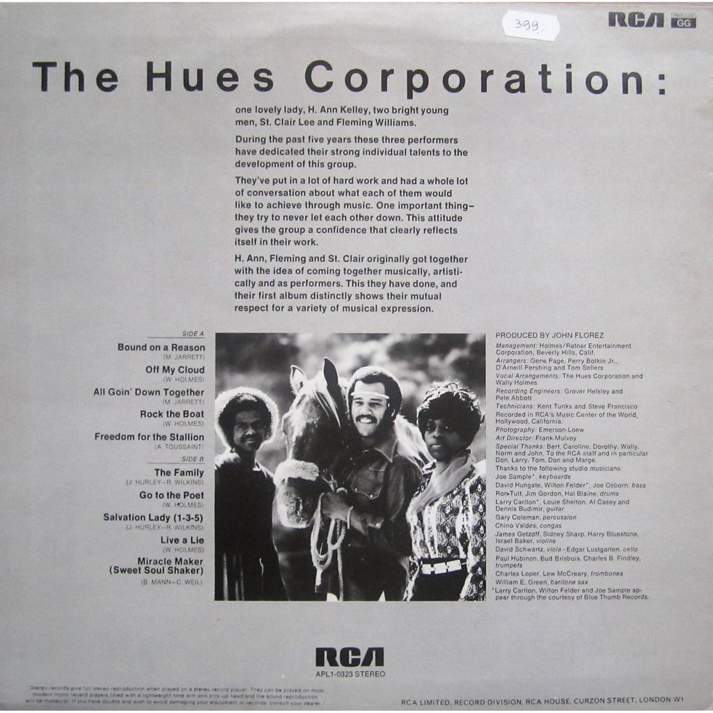 hues corporation freedom from the stallion