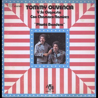 Tommy Olivencia Planté Bandera