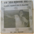 ALEX KONADU'S BAND - Fa odo behyia me - LP