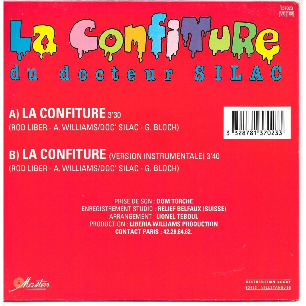 La confiture du docteur Silac La confiture - Instrumental