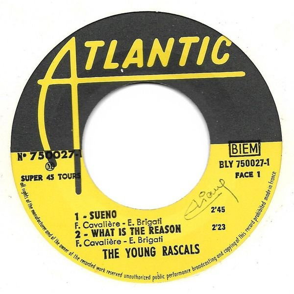 YOUNG RASCALS, The Sueno