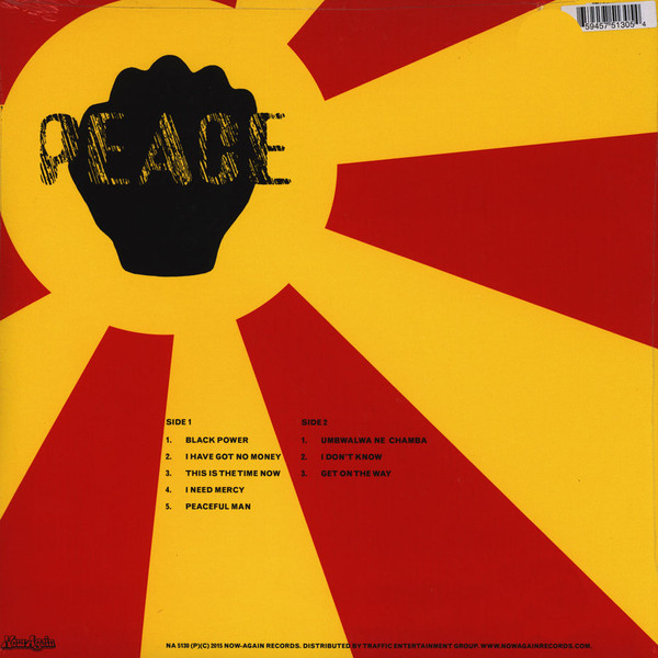 Peace Black Power (afro/psych)