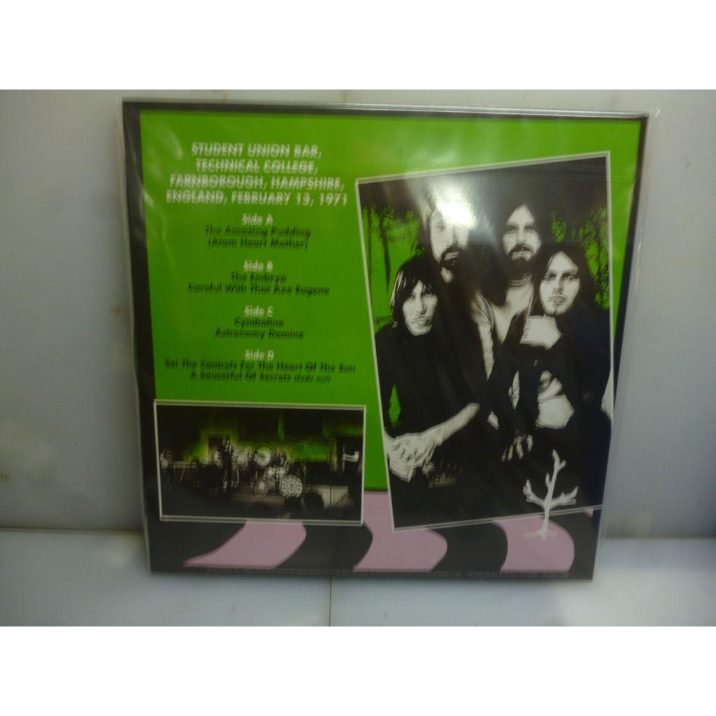 Pink Floyd Technical College 1971. Farnborough, UK 1971. USA 2019 Ltd To 400 Gatefold Green Fluo 2LP Vinyl