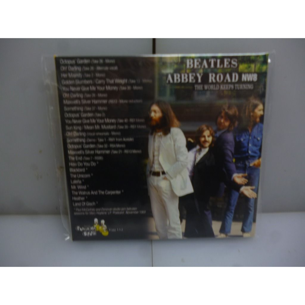 Beatles Abbey Road NW8. The World Keeps Turning. Outtakes. EU 2019 CD Digipack.