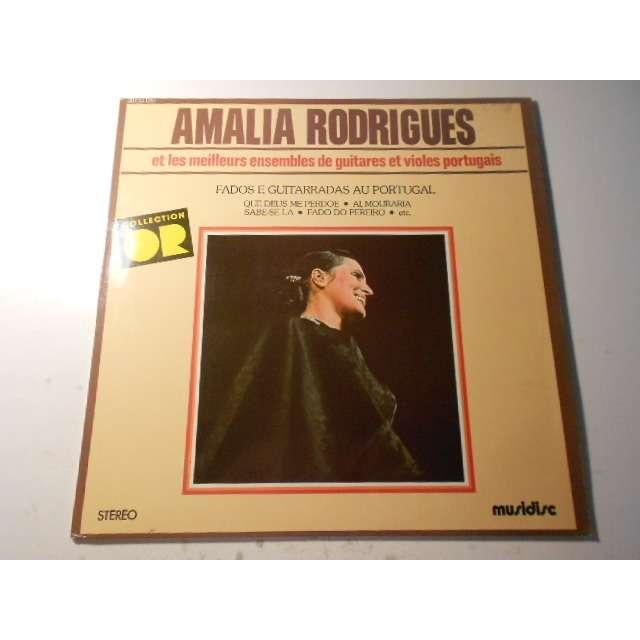 amalia rodrigues et les meilleurs ensembles de guitares et violes portugais collection or