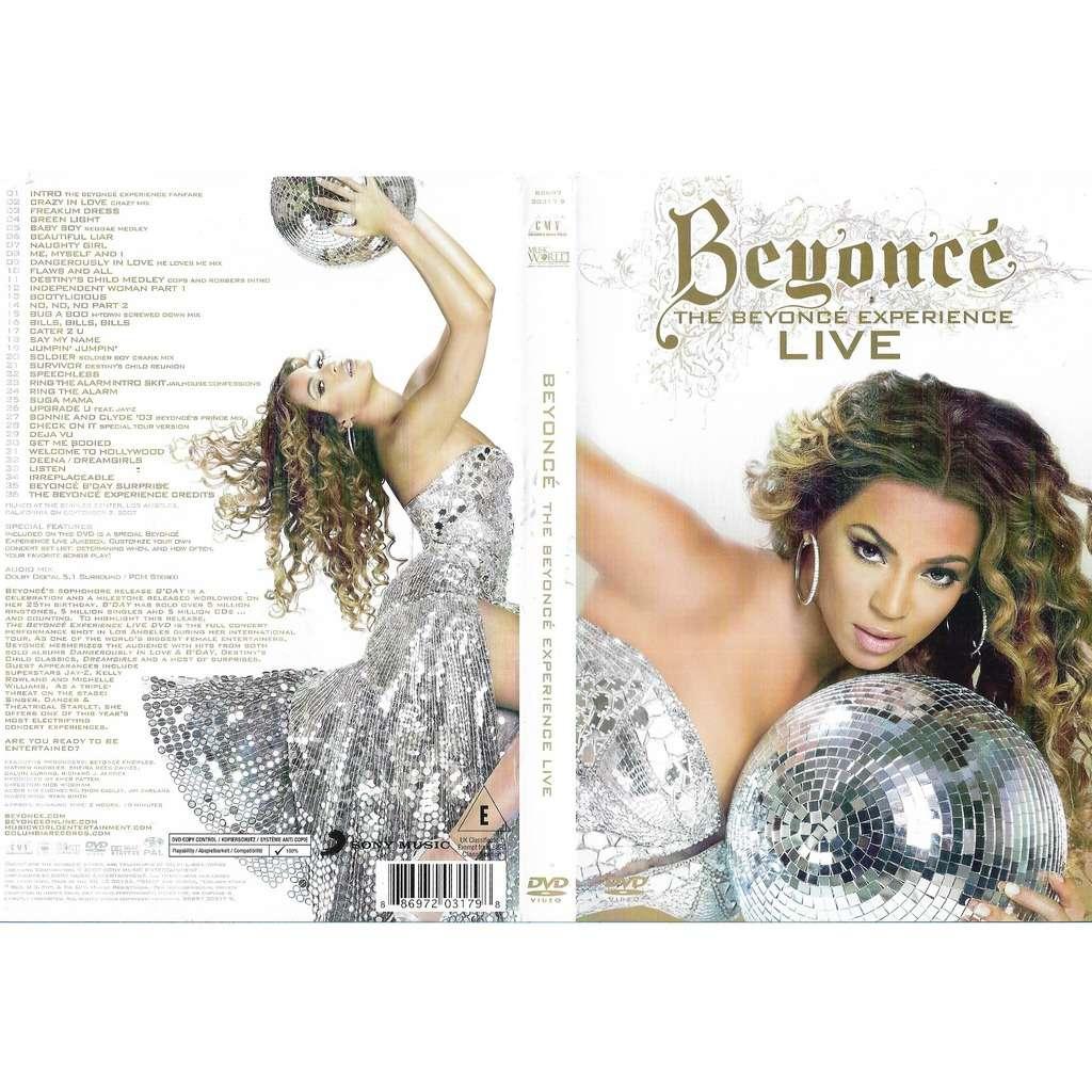 Beyoncé The Beyoncé Experience Live