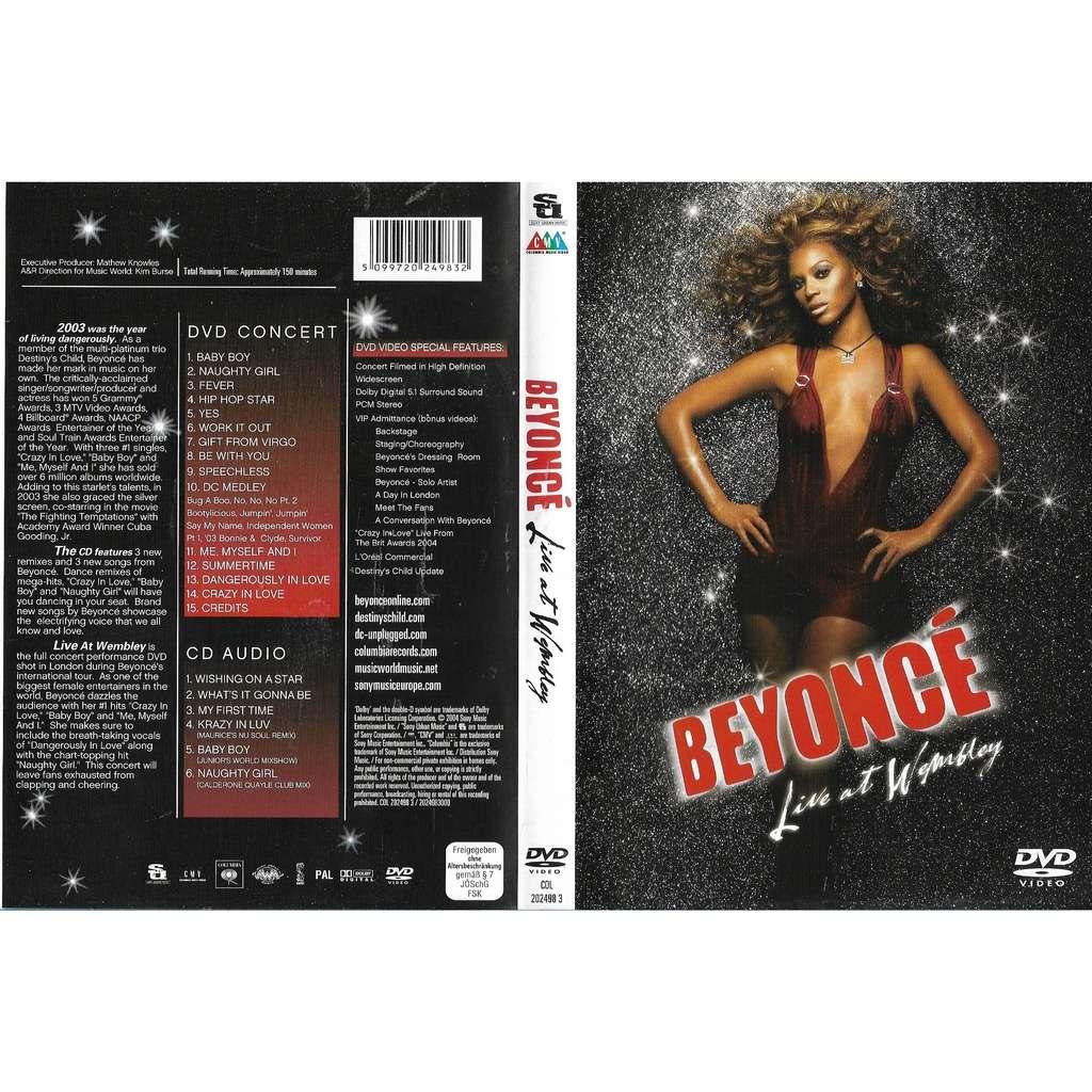 Beyonce Live At Wembley