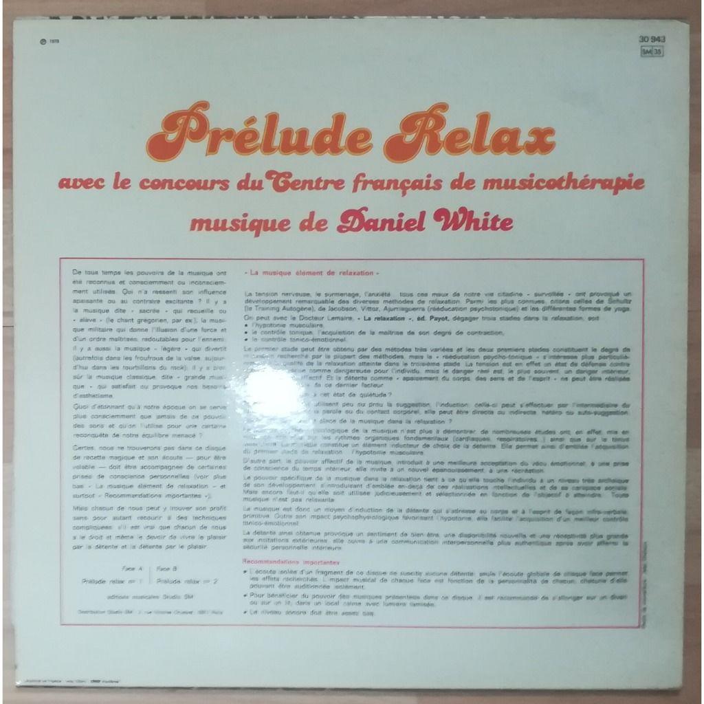 DANIEL J WHITE prélude relax