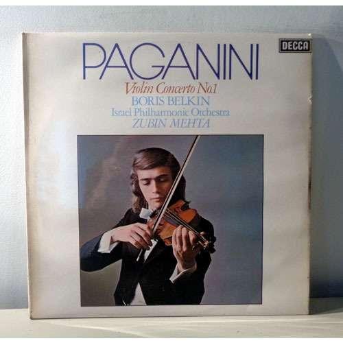 BORIS BELKIN & ZUBIN MEHTA PAGANINI Violin concerto n°1