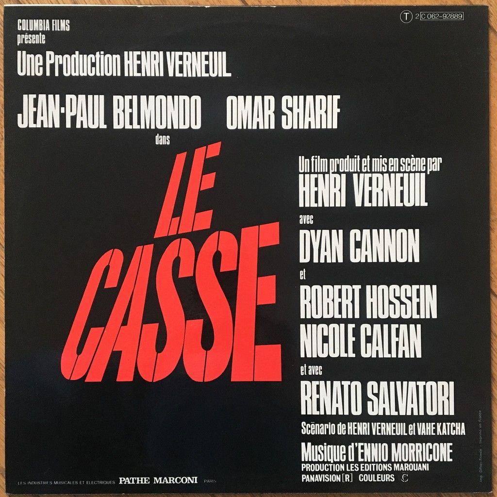 Ennio Morricone Le Casse - Bande Sonore Originale Du Film D´Henri Verneuil