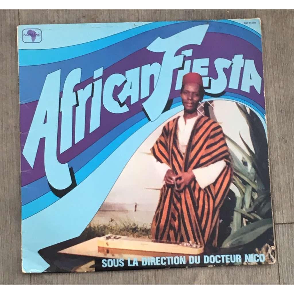 AFRICAN FIESTA sous la dir. de Dr Nico S/T - Afrique tayokana