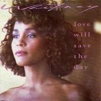 HOUSTON WHITNEY love will save the day / hold me : duet with teddy pendergrass