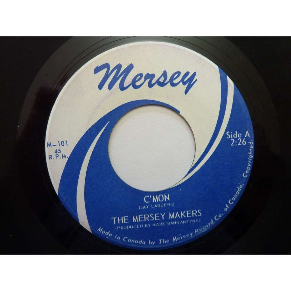 The Mersey Makers C'mon/Day After Day