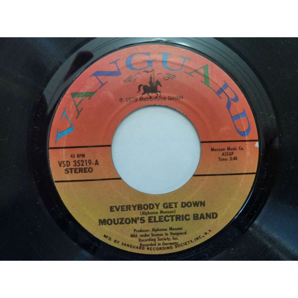 Mouzon's Electric Band Everybody Get Down / I Still Love You