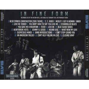 elvis presley 001 CD digipack 9/2/73 las Vegas midnight show