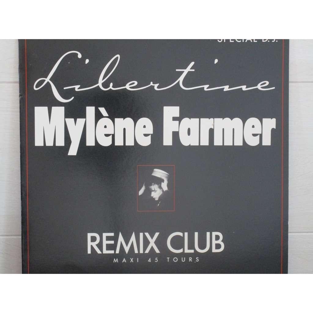 MYLENE FARMER LIBERTINE REMIX CLUB
