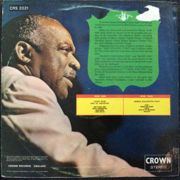 Count Basie AND HIS ORCHESTRA ALSO STARING GEORGE Count Basie