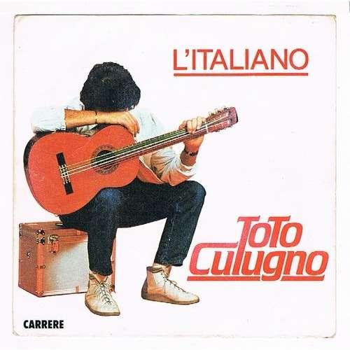 CUTUGNO TOTO l'italiano / sarà ( label interieur papier )