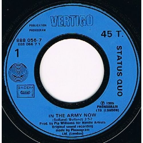 STATUS QUO in the army now / heartburn