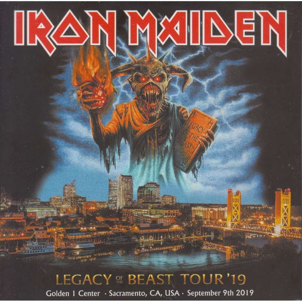 iron maiden LIVE IN SACRAMENTO