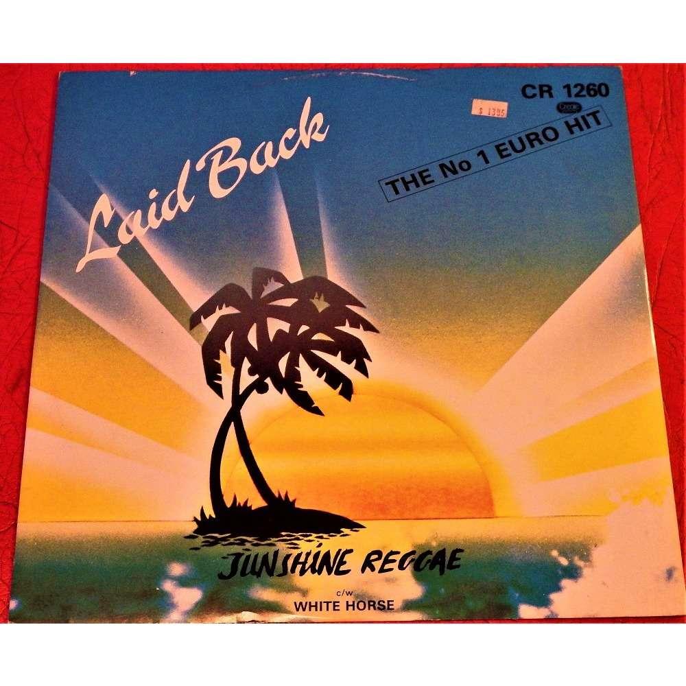 LAID BACK Sunshine Reggae, c/w White Horse
