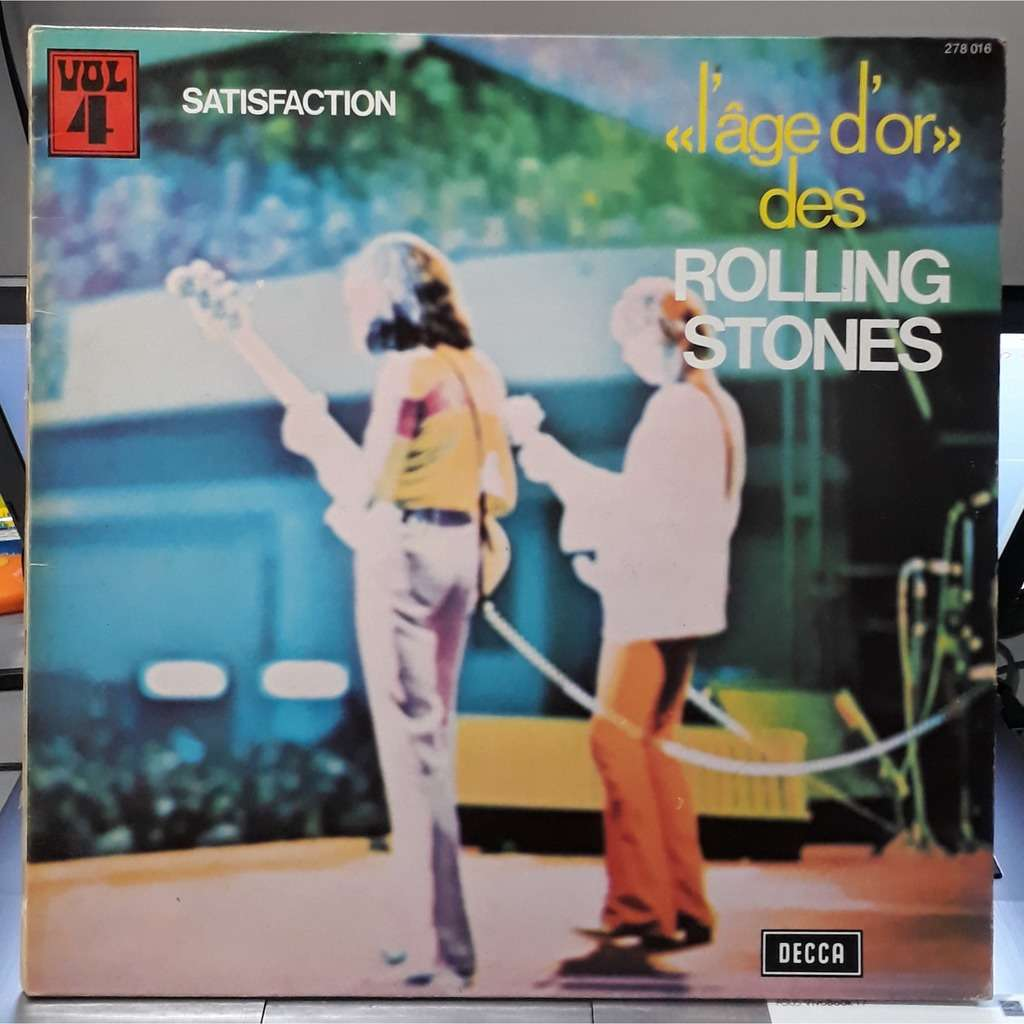 the rolling stones L'age d'or des rolling stones vol 4