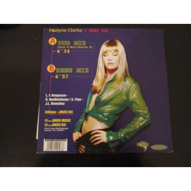 Rozlyne CLARKE i need you , dub mix / keen mix