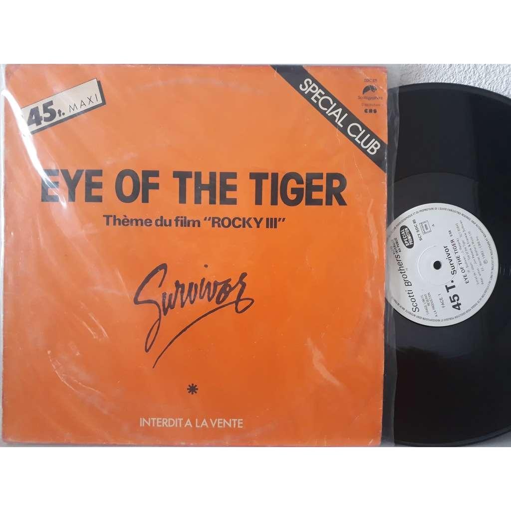 survivor eye of the tiger (promo)
