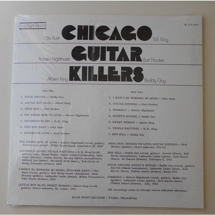 various artists Chicago guitar killers