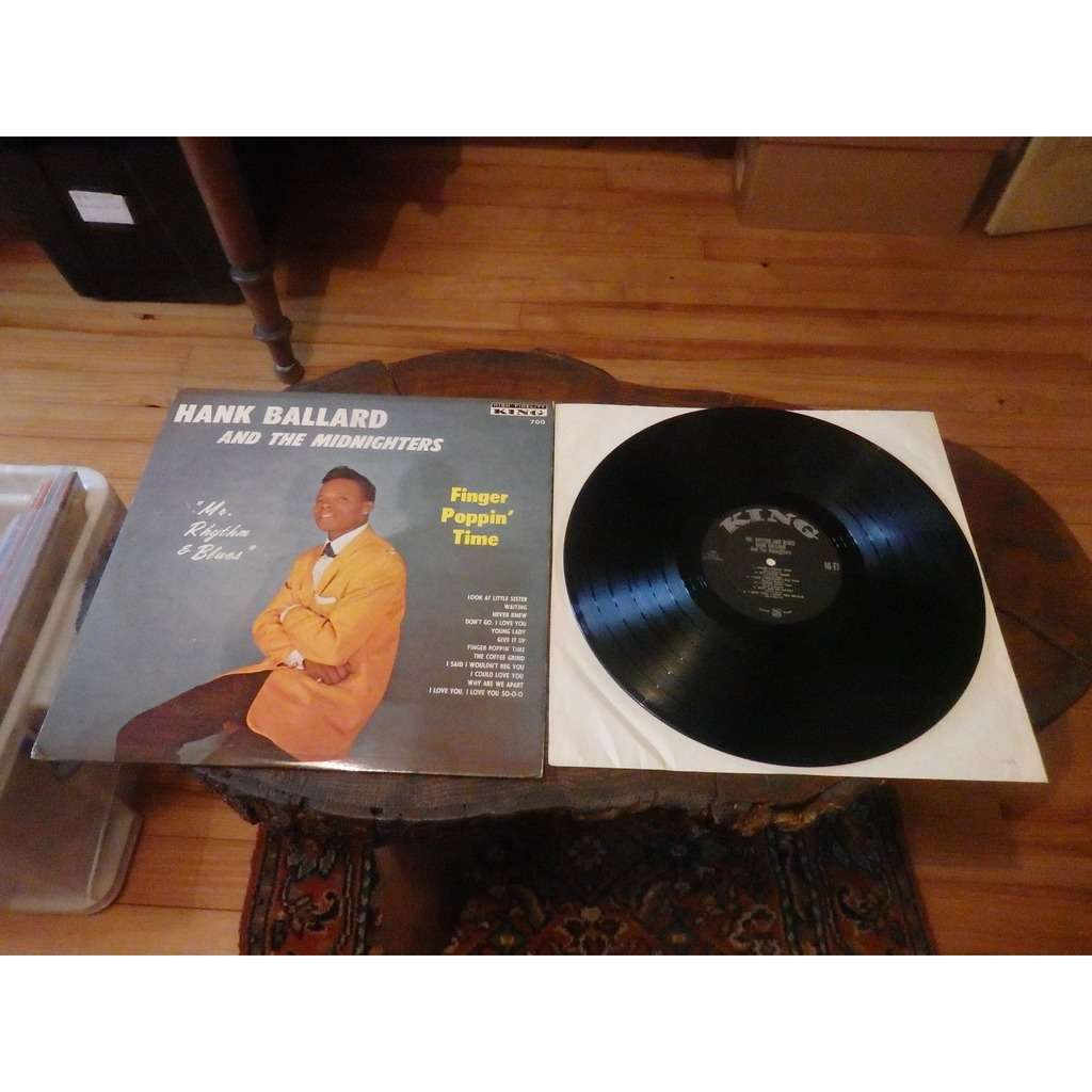 hank ballard & midnighters mr rhythm & blues