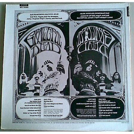 grateful dead Grateful Dead (USA 1974 3rd issue 9-trk LPon WB lbl full ps!! unplayed copy!!)